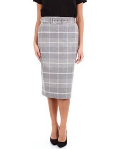 Viacfarebná sukňa D. Exterior