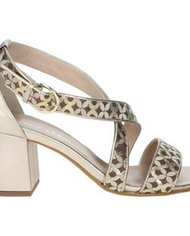 Hnedé sandále Paola Ferri