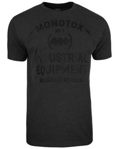Čierne tričko Monotox