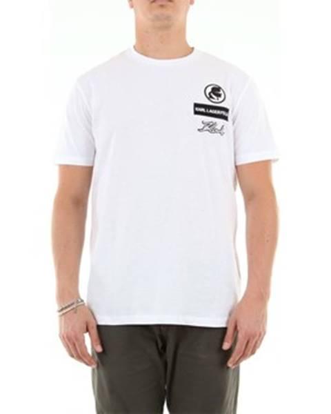 Biele tričko Karl Lagerfeld
