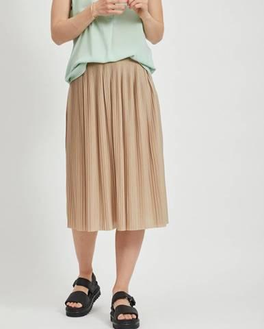 Béžová sukňa Vila