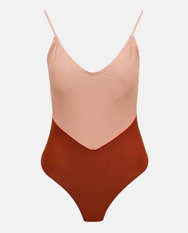 Staroružové jednodielne plavky Pieces