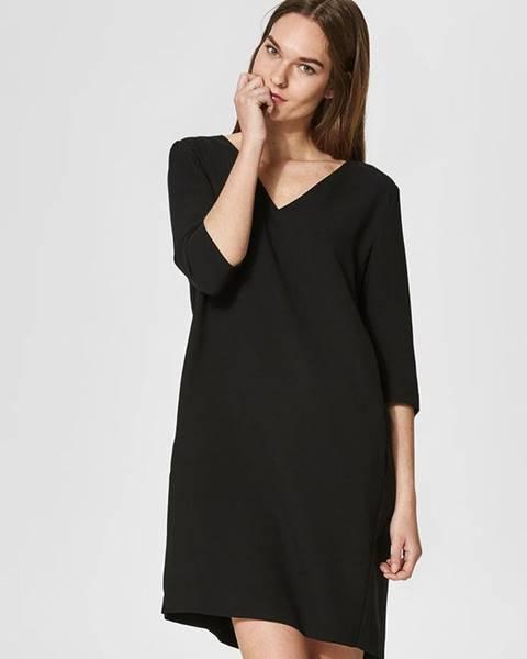 Čierne šaty Selected Femme