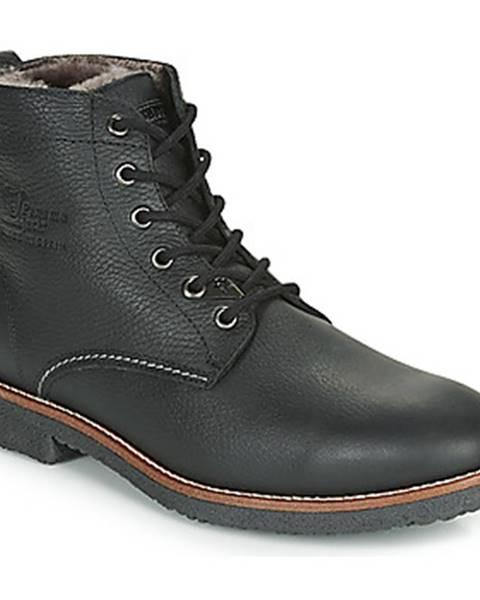 Čierne topánky Panama Jack
