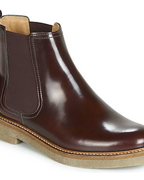 Bordové topánky Kickers