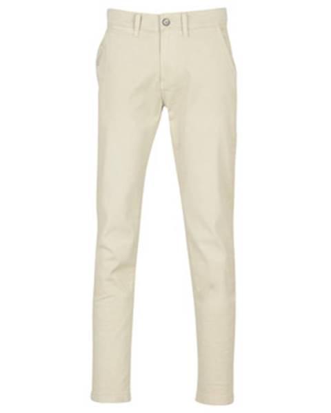 Béžové nohavice Pepe jeans