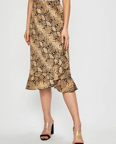 Béžová sukňa Only
