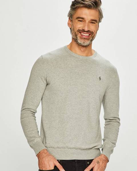 Sivý sveter Polo Ralph Lauren