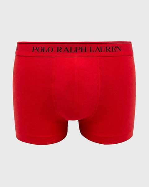 Červená spodná bielizeň Polo Ralph Lauren