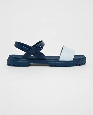 Tmavomodré sandále Zaxy