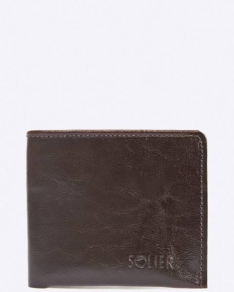 Hnedá peňaženka Solier