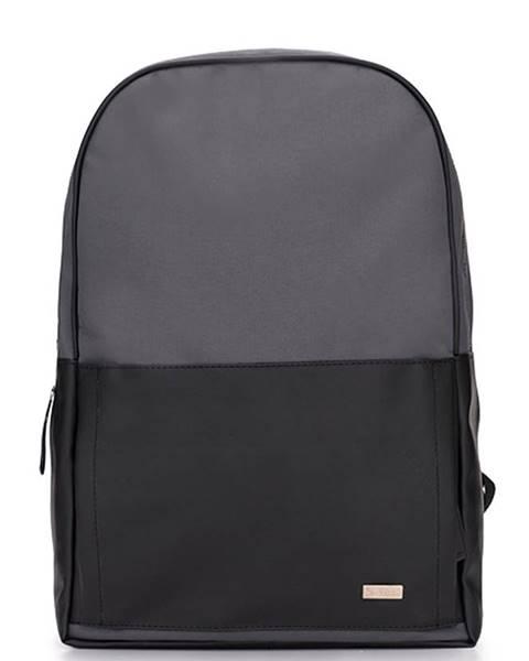 Čierny batoh Solier