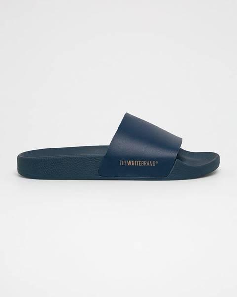 Tmavomodré sandále TheWhiteBrand