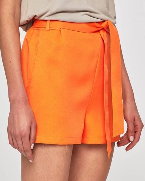 Oranžové šortky Answear