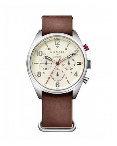 Hnedé hodinky Tommy Hilfiger