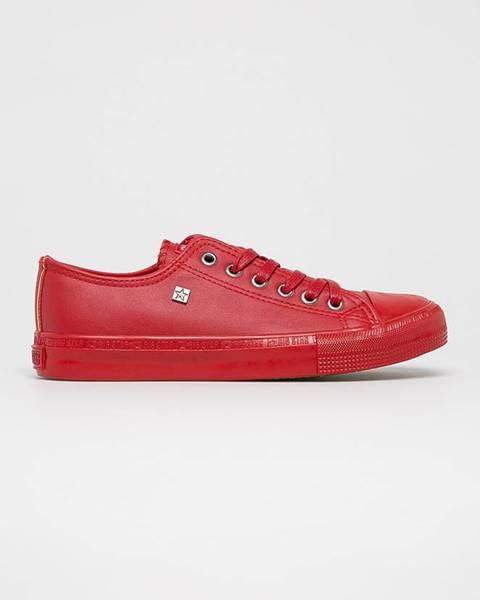 Červené tenisky Big Star