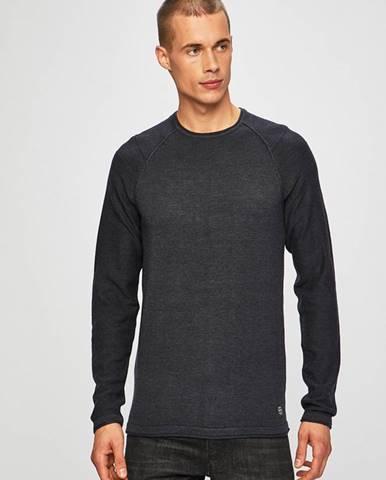 Tmavomodrý sveter Blend