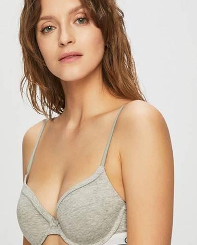 Sivá podprsenka Calvin Klein Underwear