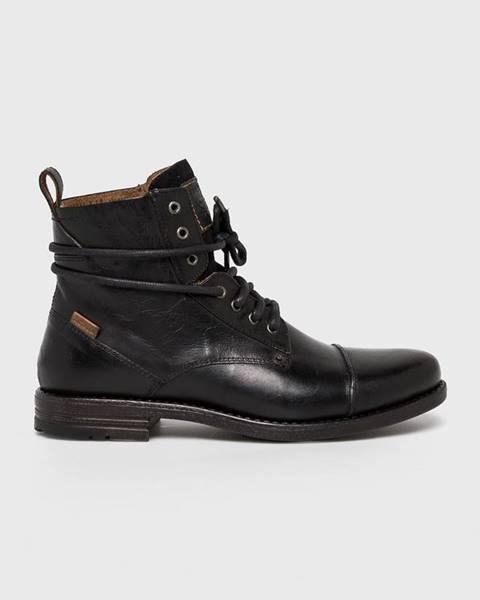 Čierne topánky Levi's