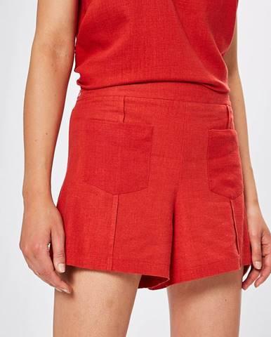Červené šortky Answear