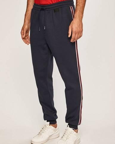 Tmavomodré nohavice Guess Jeans