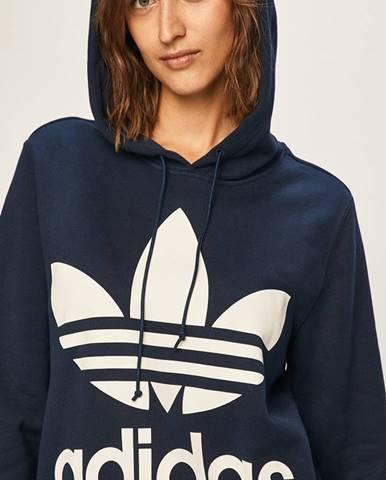 Tmavomodrá mikina s kapucňou adidas Originals