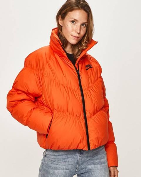Oranžová bunda Nike Sportswear