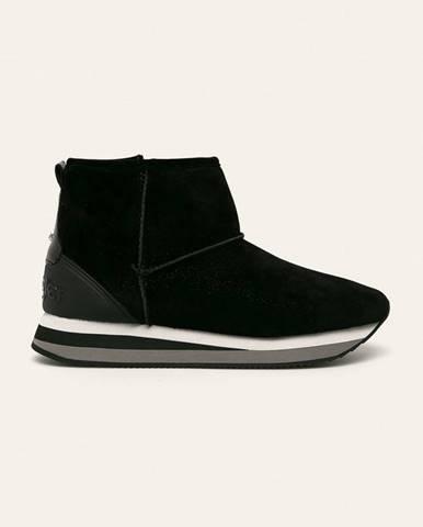 Čierne zimná obuv Wrangler