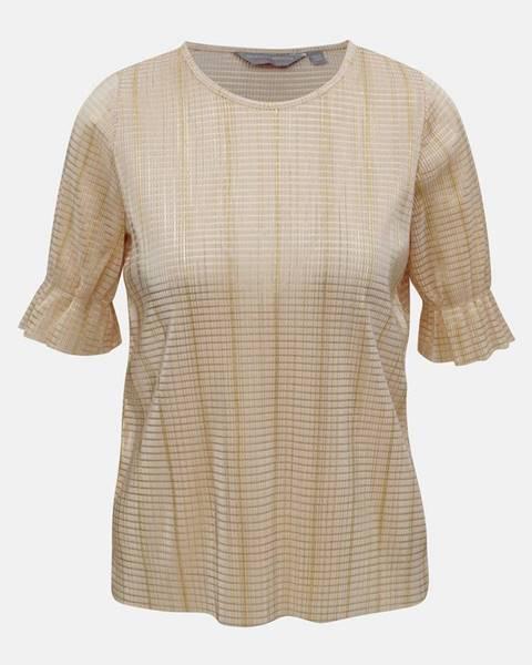 Béžové tričko Dorothy Perkins Petite