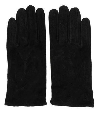 Čierne rukavice Pieces