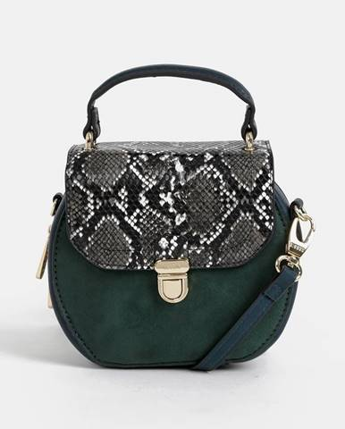 Tmavozelená kabelka Bessie London
