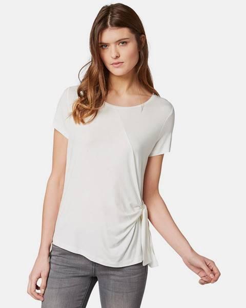 Krémové tričko Tom Tailor