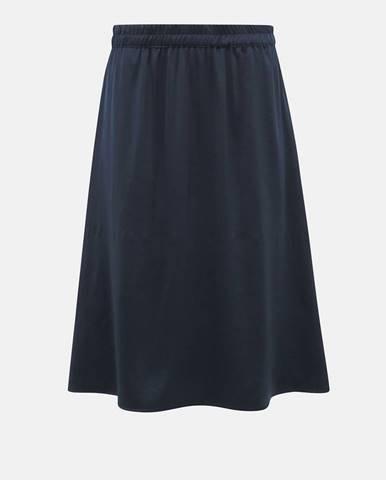 Tmavomodrá sukňa Vila