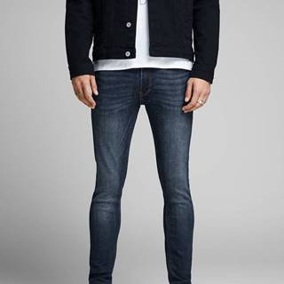 Tmavomodré skinny rifle Jack & Jones Liam