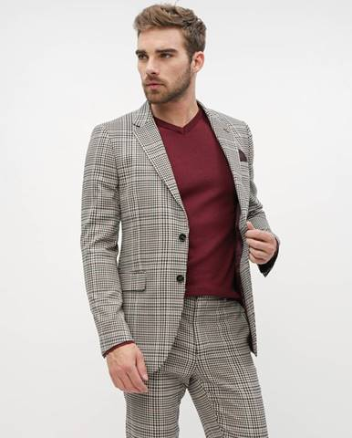 Béžový oblek Burton Menswear London