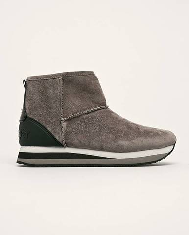Sivé zimná obuv Wrangler