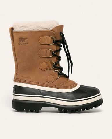 Hnedé zimná obuv Sorel