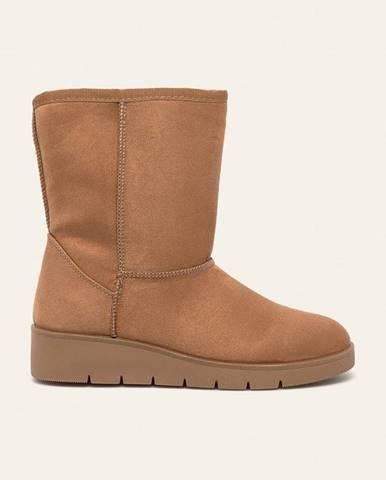 Béžové zimná obuv Answear