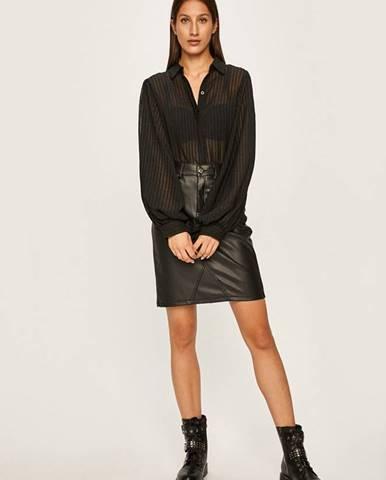 Čierna košeľa Answear