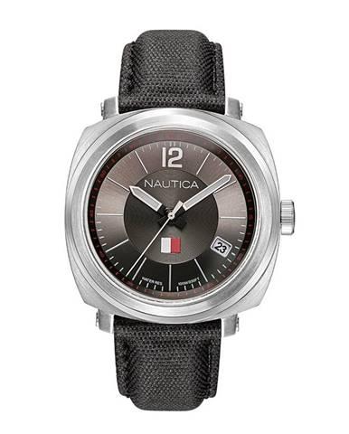 Čierne hodinky Nautica