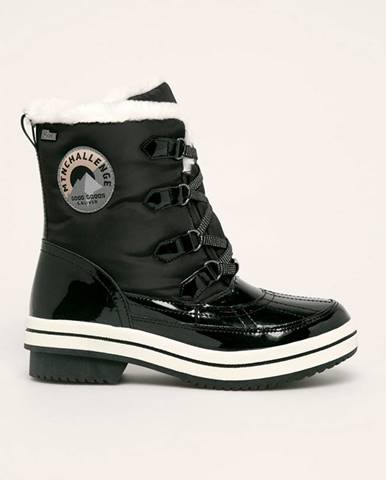 Čierne zimná obuv S.Oliver