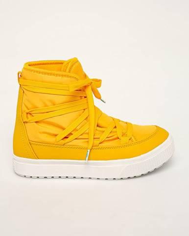 Žlté zimná obuv Native