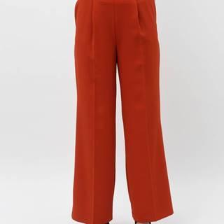 Tehlové široké nohavice Miss Selfridge