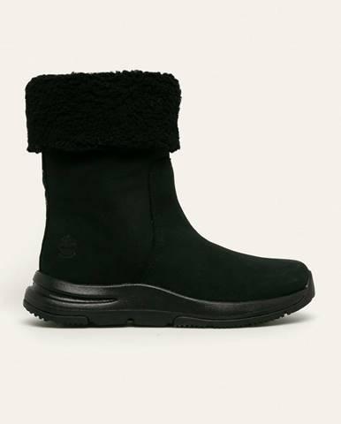 Čierne zimná obuv Timberland