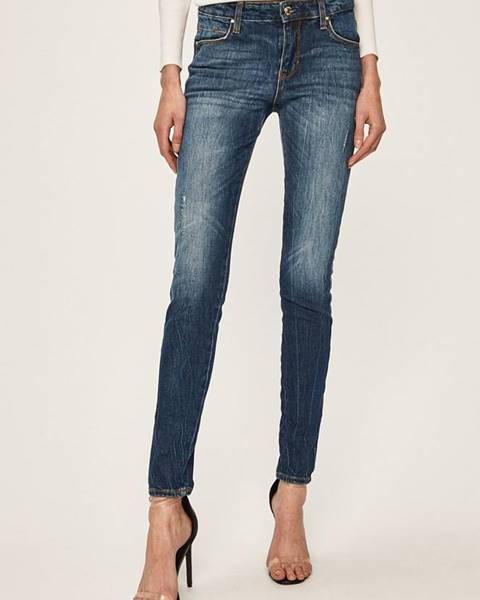 Modré rifle Guess Jeans