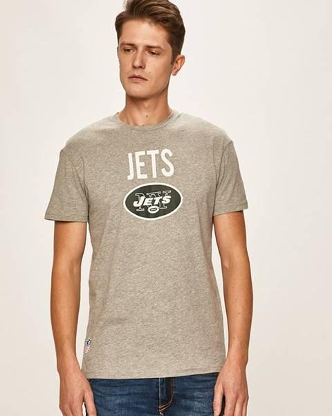 Sivé tričko Jack & Jones
