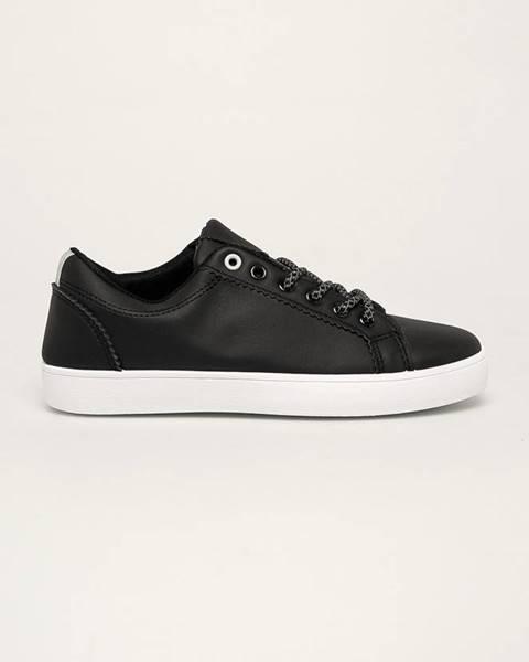 Čierne topánky Answear