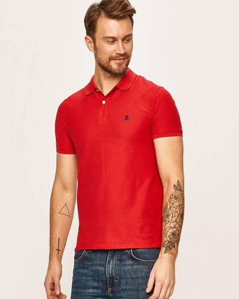 Červené tričko Izod