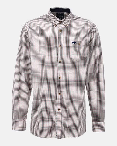 Béžová košeľa Raging Bull