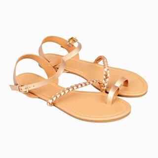 Sandále so zapletaným remienkom